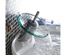 Waterval Badkraan Glas