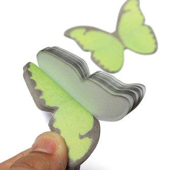 Sticky Notes Vlinder 40 Stuks