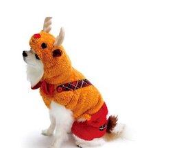 Honden Kostuum Kerst Rendier