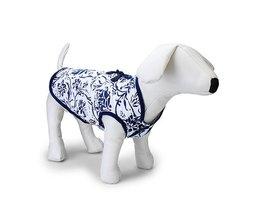 Hondenjasje met Porseleinprint