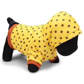 Jas voor Hond Fleece  Stippen