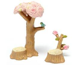 Klein Kersenboom Beeldje voor in uw Tuin