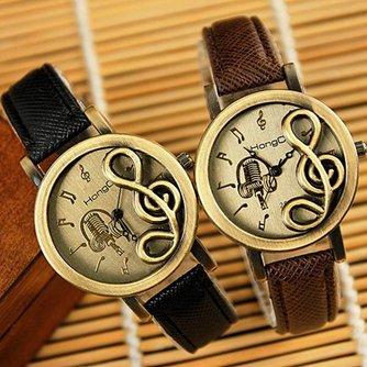 Trendy Horloges Muzieknoot