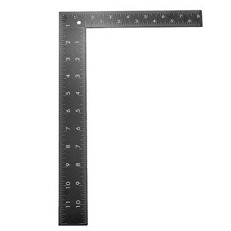 Hoekliniaal Van Roestvrij Staal 30x20cm