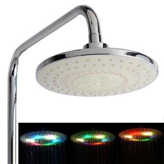 Douchekop met Kleurrijke LED Verlichting