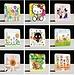 Sticker van PVC met Leuke Cartoon voor Lichtknop/Stopcontact