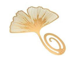 Bladwijzer Gouden Gingkoblad