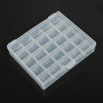 Plastic Doos met Vakjes 25 Vakjes