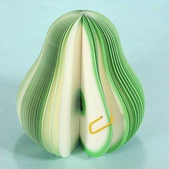 Fruitvormige Notitieblok