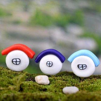 Decoratief Mini Huisje In Meerdere Kleuren
