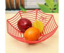 Leuke Fruitschaal Spinnenweb Halloween