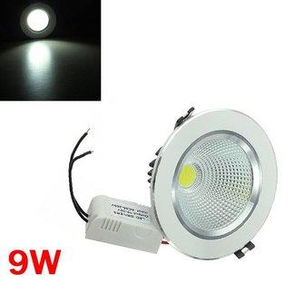 9W LED Plafondspot Met Driver
