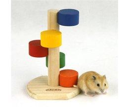 Hamster Ladder Hout Kleuren