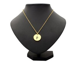 Letter Ketting in Goud of Zilver