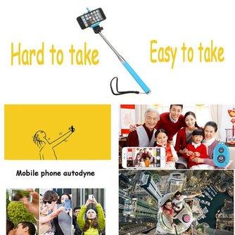Selfie Stick Met Bluetooth In Meerdere Kleuren