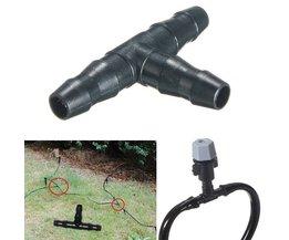 T-koppeling voor Druppelbewatering (50 Stuks)