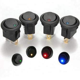 Auto Lichtschakelaar met LED