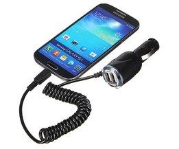 Auto Telefoon Oplader Voor iPhone