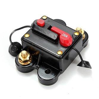 Stroomschakelaar met Reset-knop Voor Video en Audiosystemen