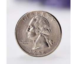Amerikaanse 25 Cent Quarter met George Washington