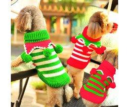 Kersttrui voor Hond