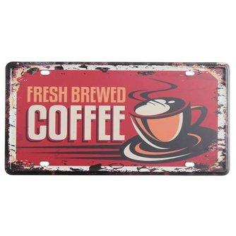 Metalen Reclameborden Koffie