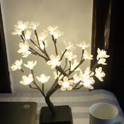 LED Lamp Boom met Bloesem