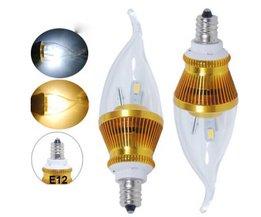 E12 LED Lichtpeertje Vlam