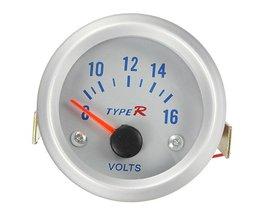 Analoge Voltmeter 8-16V