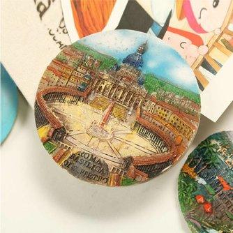 Koelkast Magneten met Schilderij