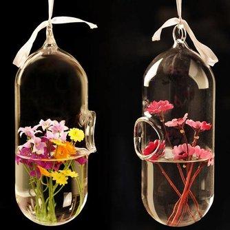 Trendy Hangvaasje van Borosilicaatglas