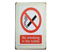 """""""No Smoking"""" Bordje"""