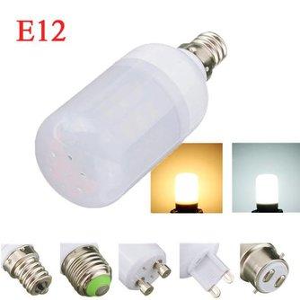 Mat LED Lichtpeertje met E12 Fitting