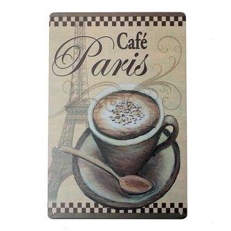 Decoratie Bordje Parijs