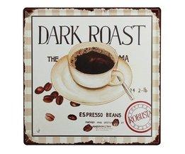 Espresso Decoratiebord