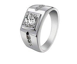 Zirconium Ring Voor Mannen