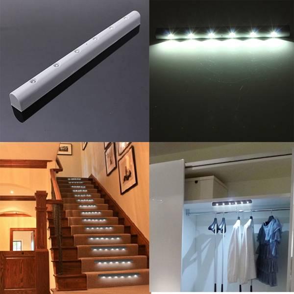draadloze led lampen met sensor