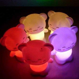 Nachtlampje in de Vorm van een Kat