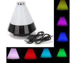 Meerkleurige Nachtlamp Met Speaker