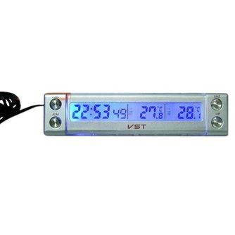 Thermometer Met Klok