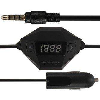 Auto Radio voor Sigarettenaansluiting met USB Poort
