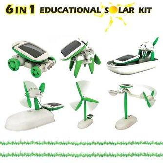 6 In 1 Speelgoed Op Zonne-Energie
