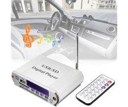 Digitale Radio- en Muziekspeler voor in de Auto