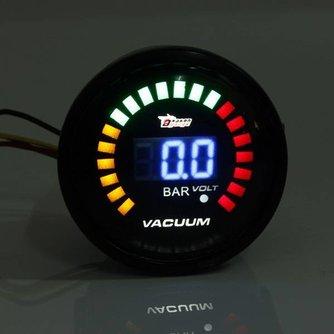 Vacuum Meter 52 mm LED