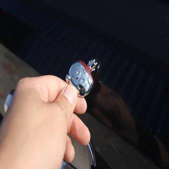 Sleutel Decoratie Grappig Hoofd