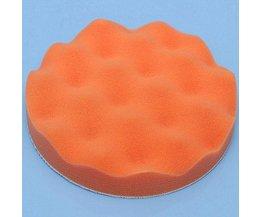 Oranje Polijstspons 150mm
