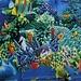 Waterdicht Douchegordijn met Onderwater Wereld 180 x 180 CM
