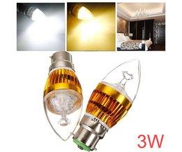 B22 Dimbare LED Lamp In Twee Kleuren