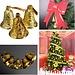 Gouden Kerstklokjes 9 Stuks