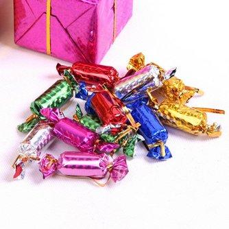 Decoratieve Kerstsnoepjes voor in de Kerstboom 12 Stuks